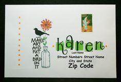 Envelope Art  | Flickr - Photo Sharing!