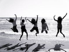 """Leaping for joy......(""""You will do foolish things, but do them with enthusiasm."""" Sidonie-Gabrielle Colette)"""