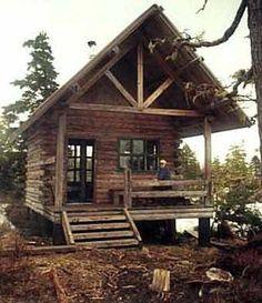 John Muir Cabin.  Juneau, AK  i hope i stay here one day