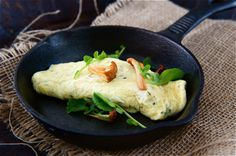 Sun-Dried Tomato, Mushroom and Goat Cheese Omelette   Cheese Omelette ...