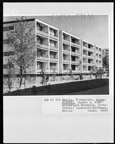 berlin, tiergarten / hansaviertel, luckhardt & hoffmann, objekt 9, interbau 57@ bildindex