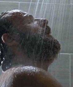 "The Walking Dead 5x12 ""Remember"" Shower Rick Grimes"