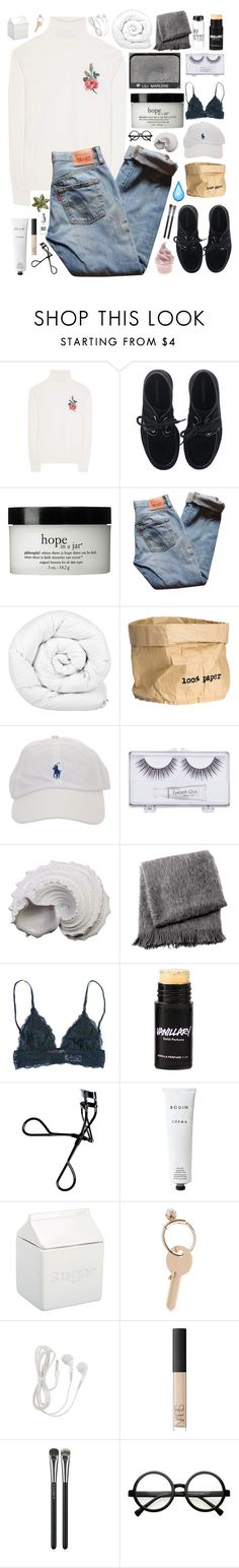 """🌕moon river, wider than a mile🌕"" by claral13 ❤ liked on Polyvore featuring Gucci, Underground, NARS Cosmetics, philosophy, Levi's, Brinkhaus, H&M, Sonia Kashuk, Urban Trends Collection and From the Road"