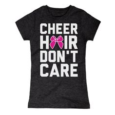 Cheer Hair Dont Care Youth Girl Tee