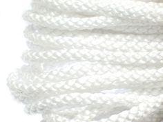 Sznurek Marynarski Perła 6mm 1m 1,99 zł - Półfabrykaty do biżuterii \ Bazy biżuteryjne \ Sznurki \ Polipropylenowe Decoupage \ Elementy do zdobienia \ Sznurki \ Polipropylenowe - MarMon.com.pl