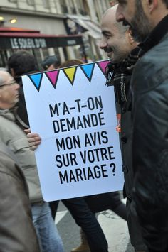 Mariage pour tous, manifestation, Paris, 16 décembre 2012 © Stefane Ardenti