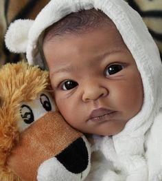 "DOLLS2BABIES Reborn Baby Doll Prototype 2 ""Thandie"" by Adrie Stoete | eBay"
