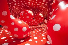 The dot obsession by Yayoi Kusama| ‪dot obsession,Yayoi Kusama, artistic installations,contemporary art, artists|for more inspirations or amazing pictures check out: http://www.bocadolobo.com/en/inspiration-and-ideas/