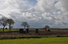 Een mooie wolkenlucht in Altweerterheide.  @JosHebben.