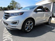 Ford Edge Suv, 2016 Ford Edge, Side Window, Rear Window, Limited Slip Differential, Keyless Entry, Aluminum Wheels