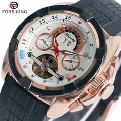 861f78cfcd4 Automatic Mechanical Wrist Watch Men Multi function Dials