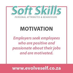 In job descriptions, employers often ask for a combination of soft and hard skills. Hard skills are related to specific technical knowledge and training while soft skills are personality traits such as leadership, communication or time management. Both types of skills are necessary to perform and advance in most jobs successfully. Cv Writing Tips, Training Materials, Career Success, Job Posting, Job Description, Get The Job, Time Management, Problem Solving, Leadership