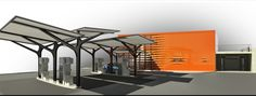 gas station design - Google Search