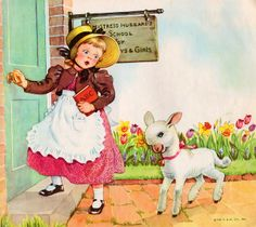 Mary Had a Little Lamb by Eulalie