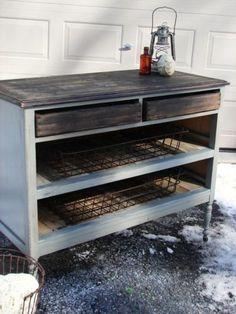 Rustic Vintage Dresser Kitchen Island Buffet