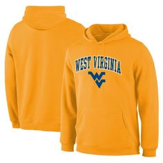 Fanatics Branded West Virginia Mountaineers Campus Pullover Hoodie - Gold
