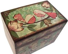guest book note card box