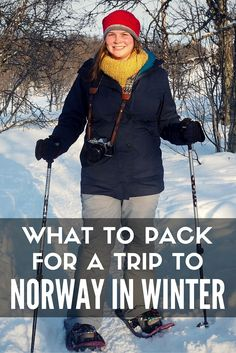 What to pack for a trip to Norway in winter
