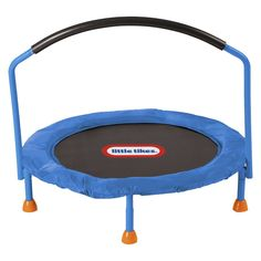 Little Tikes Trampoline 3-Foot Great energy burner. If your child keeps you busy all day running around then this is a good investment.