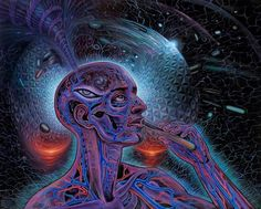 Psychedelic Spirit Paintings, Alex Grey Art Gallery – Third Monk Alex Grey is known for his paintings of glowing anatomical Alex Grey, Alex Gray Art, Art Gris, Art Visionnaire, Acid Trip, Psy Art, Pineal Gland, Beastie Boys, Ouvrages D'art