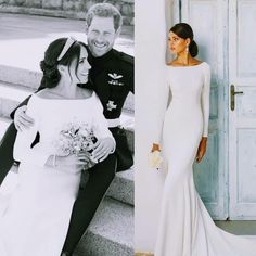 We are so inspired by the #DuchessofSussex #meghanmarkle #elegant #weddings #gowns of choice. Imagine our excitement to find out our trusted designer #JustinAlexander carries similar gowns. Ask us about our #loaner program to try on your #weddingdress for your #royalwedding #dimitradesigns #dimitradesignsdresses #Duke #princeharry