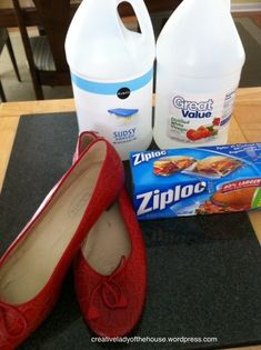 A Simple Way To Stretch Your Shoes   Creative Lady of the House