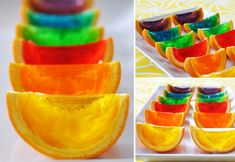 Rainbow Jelly Wedges.. 20 fun party food ideas