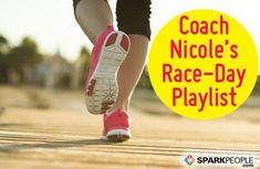 Need some motivation to get out the door and run? Here are 25 upbeat songs that got Coach Nicole through her most recent half marathon! 100 Running Songs, Running Music, Marathon Running Motivation, Running Guide, Upbeat Songs, Spark People, Workout Music, Race Day, Health Motivation