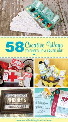 58+ Easy and Creative Ways to Cheer Up a Loved One | The Dating Divas Creative Gifts #creativegifts #diygifts