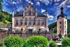 Schloss Sayn in Bendorf (Rheinland-Pfalz), Germany