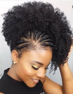 Natural Black Ponytail For Women 1 Piece Afro Kinky Curly Ponytails Clip In Human Hair Dolago Hair Products Remy Natural Hair Updo, Natural Hair Care, Natural Hair Styles, Natural Afro Hairstyles, 1950s Hairstyles, Natural Hair Tutorials, Hairstyles Men, Black Hairstyles, Cabello Afro Natural