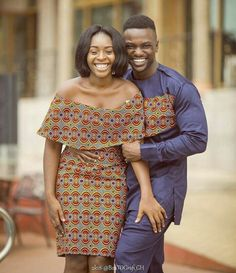 The collection of Beautiful Ankara Pattern Styles For Ladies you've ever wanted to see. Want to style and pattern your African print ankara Couples African Outfits, African Dresses For Women, African Print Dresses, Couple Outfits, African Fashion Dresses, African Attire, African Wear, Ankara Fashion, Fashion Skirts