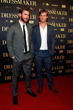 Liam Hemsworth Turns His Australian Premiere Into a Family Affair