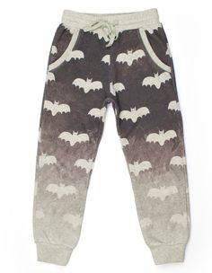 Paper Wings Boys Bat Art Trackie Pants – Little Luna Blue