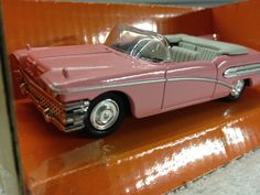New Ray 1958 Buick Roadmaster Convertible Die-Cast  1/43 Scale #NEWRAY #1958Buick