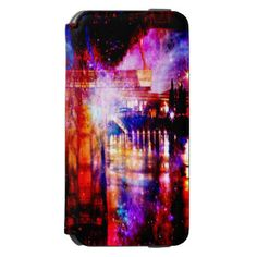 Rainbow Universe Bridge iPhone 6/6s Wallet Case
