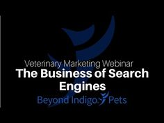 #Veterinary #Marketing Webinar: Join us for this webinar, where we take a behind the scenes look at the various business dealings that search engines are making and what it means for small businesses. Arm yourself with this useful knowledge in this 30 minute webinar from the Beyond Indigo #SEO team!