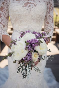 Is it possible not to be completely awestruck by this dreamy lilac wedding at The Citadel in the United Kingdom?