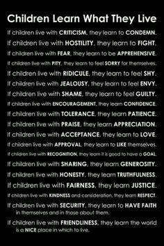 Teach them well