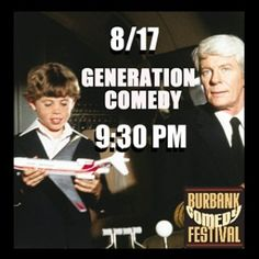 These comics' #FunnyBusiness spans many generations. Get your tix at BurbankComedyFestival.com