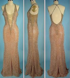 CHER  BOB MACKIE Gown Worn by Cher to the Oscars in 1983!