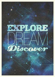 #explore #dream #discover
