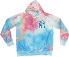 #hoodie Tie Dye Shirts, Tie Dye Hoodie, Custom Ties, Custom Vinyl, Orange And Purple, Blue, Online Clothing Stores, Hoodies, Sweatshirts