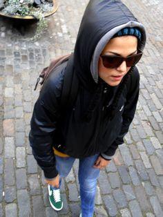 Come tutti anche io amo viaggiare! A Stoccolma, l'anno scorso, eccomi qui!