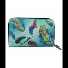 Portofel Feathers din piele, Anuschka Bags, Fashion, Handbags, Moda, Fashion Styles, Fashion Illustrations, Bag, Totes, Hand Bags