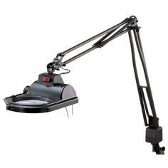 Electrix 100 Watt Halogen Magnifier Magnified Table Task Lamp Heavy Duty New | eBay