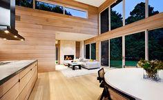 Gansett   Martin Architects PC   Madera y buen gusto para ambientes cálidos...