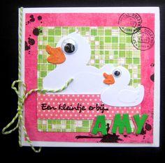 Baby card  Scrapspul van Colien