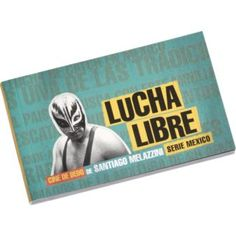 """lucha libre"", at CB2 for $6.95.   150 pages; 4""x2.25"" Flip book of Santiago Melazzini's black-and-white moving pictures  Features masked Mexican luchadores bouncing off wrestling-ring ropes and falling to the mat  Made in Argentina"
