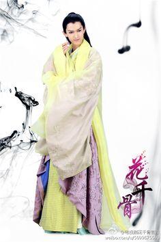 Leader of the demon clan Sha Qian Mo (Ma Ke) The Journey Of Flower